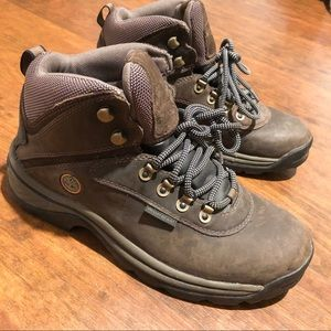 Women's Timberland Leather Hiking Boots Sz 9